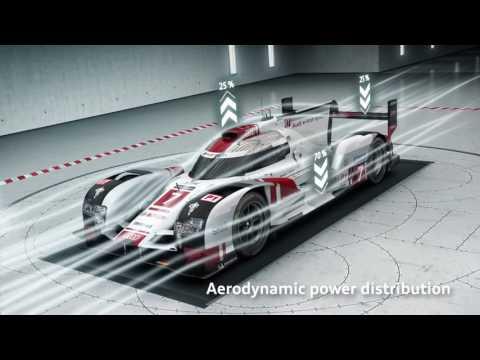 2016 Audi R18 e-tron quattro   Animation