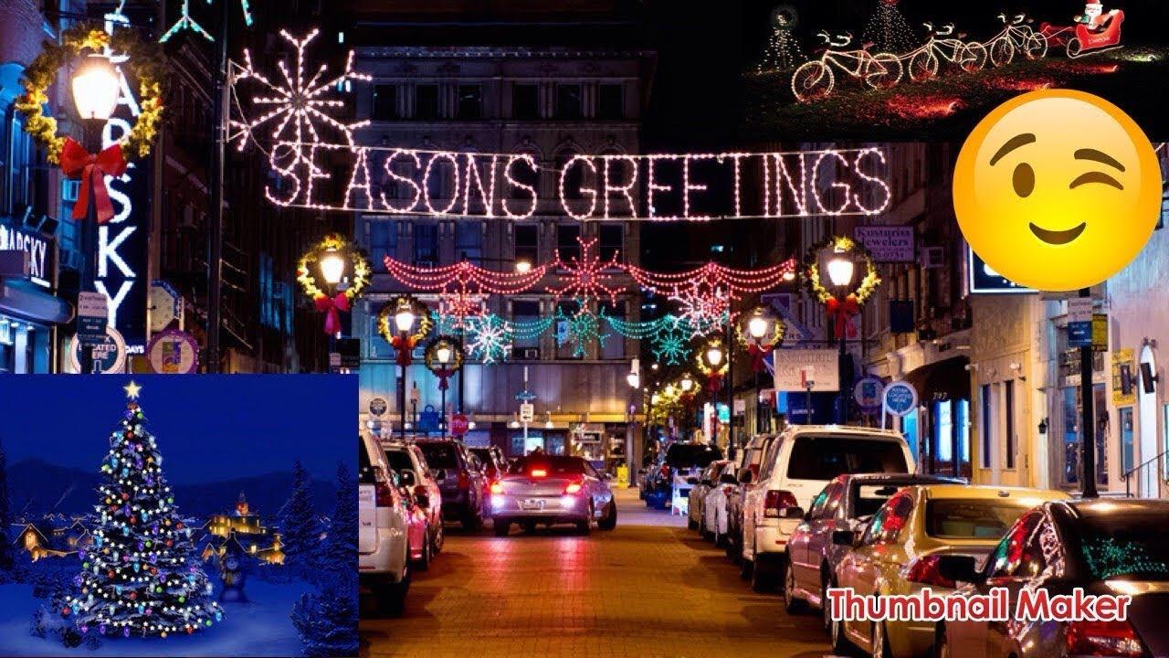 Birmingham Christmas Lights.Birmingham Christmas Lights
