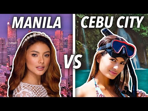 Life in Manila vs Cebu City: 7 Differences in 6 Minutes (Best Cities in the Philippines?)