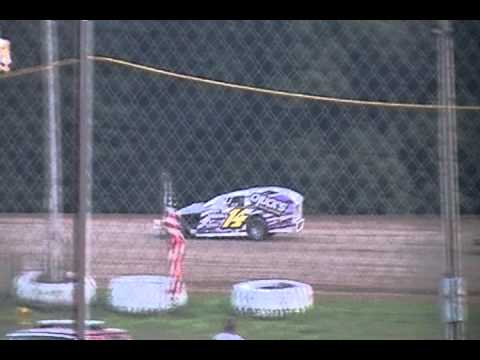 David Melloway Heat Race Win 7-15-2011