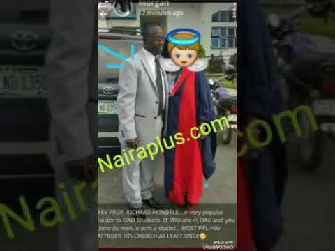 OAU Professor  In Sex For Mark Accusations Scandal (Leaked Audio)