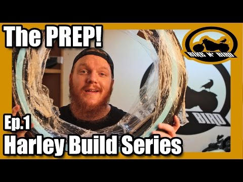 "Harley Iron 883 Sportster ""Build"" Series - Ep.1 Prep Day"