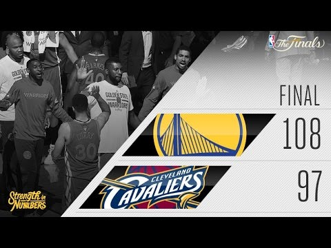 NBA Finals 2016: Warriors Beat Cavs, Take 3-1 Series Lead