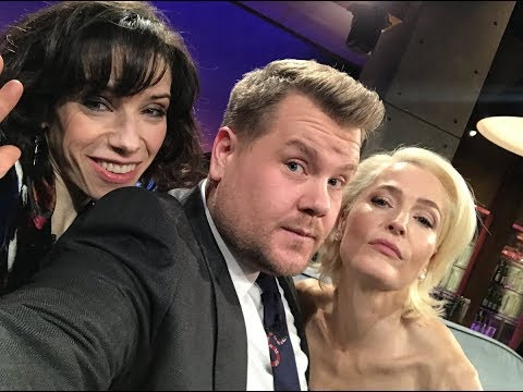 [Video] Gillian Anderson on The Late Late Show with James Corden