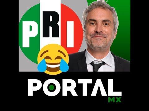 Los logros del PRI según Alfonso Cuarón