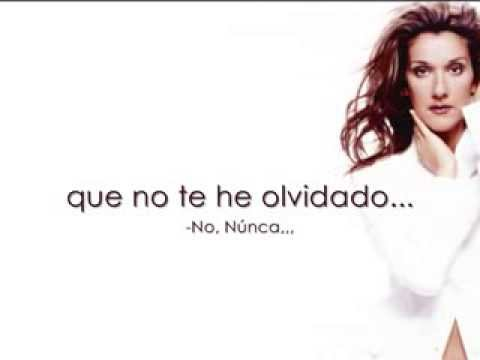 Celine Dion - Je ne Vous Oublie Pas Traducida/Subtitulada al Español