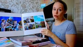 Фотокниги. Мой отзыв и обзор фотокниг которые есть у меня.(, 2018-08-19T08:03:38.000Z)