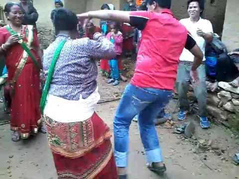 Rukum chunwang jhakas dance bidesh bata ghar gako khusi ma