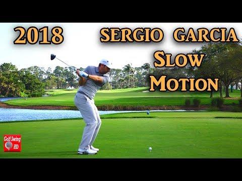 SERGIO GARCIA SLOW MOTION 120fps DTL DRIVER GOLF SWING 1080 HD