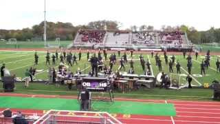 Old Bridge Marching Knights Competition at South Brunswick High School 2014