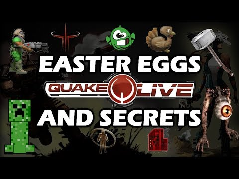 Quake Live Easter Eggs And Secrets HD
