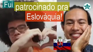 Fui patrocinado pra Eslováquia! #22 Conversa Emerson | Esperanto do ZERO!