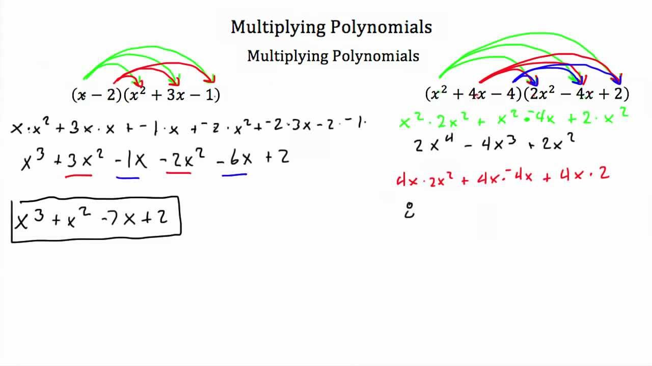 worksheet Basic Polynomial Operations operations with polynomials multiplying pt 2 textbook tactics tactics