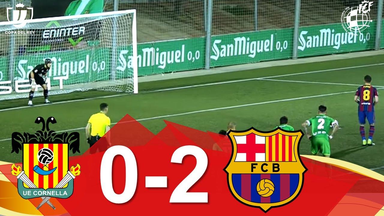 Download RESUMEN | UE Cornellà 0-2 FC Barcelona | Dieciseisavos de final de la Copa del Rey