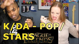 K/DA - POP/STARS (ft Madison Beer, (G)I-DLE, Jaira Burns) - League of Legends (REACTION 🔥)
