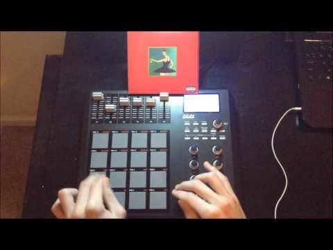 Runaway by Kanye West on Akai MPD26