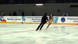 15  3 й Этап КР 2014 15, Танцы КМС, Евдокимова Базин ПТ