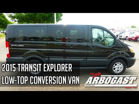2015 Ford Transit Explorer Low-Top Conversion Van | Dave ...