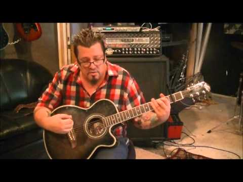How to play Before He Cheats by Carrie Underwood on guitar by Mike ...