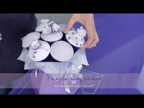Permalink to Cupcake Flower Bouquet Box
