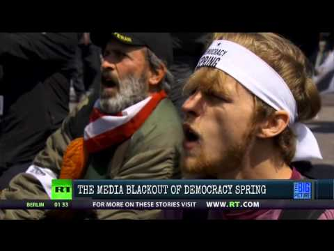 Democracy Spring Is Not Being Televised….In the Corporate Media