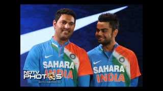 The new Jersey for Indian Cricket Team