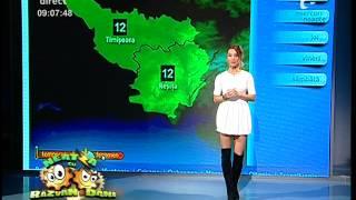 Vremea cu Flavia Mihăşan! Află prognoza meteo pentru astăzi!