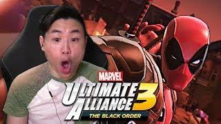 Marvel Ultimate Alliance 3 - X-MEN TRAILER!! [REACTION]