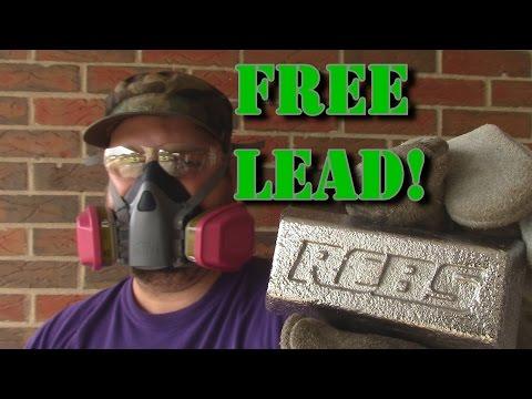 How To Safely Cast Range Scrap Lead Into Ingots Part 2