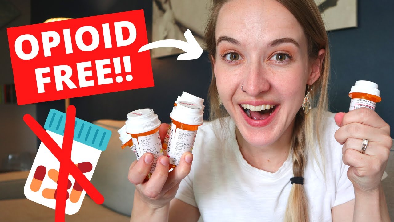 NO MORE OPIOIDS!!!! (After a DECADE of Use!)
