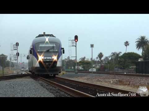 Trains in Oceanside