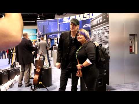 NAMM 2015 - BILLY SHEEHAN at HARTKE - Autograph Signing