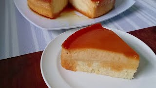 Steamed Custard Cake Recipe | How to make Custard Cake | How to Bake Steamed Custard Cake