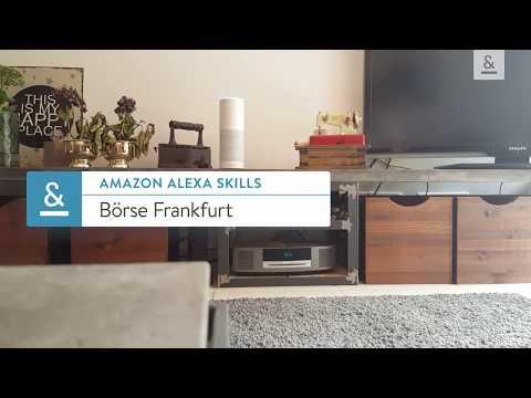 Amazon Alexa Skills - Börse Frankfurt