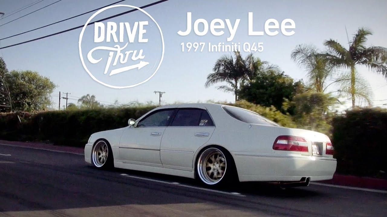 Drive thru joey lee 1997 infiniti q45 youtube vanachro Images