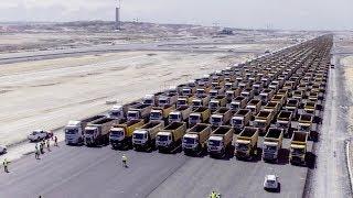 1453 kamyon İstanbul'u selamladı !!! (3.havalimanı)