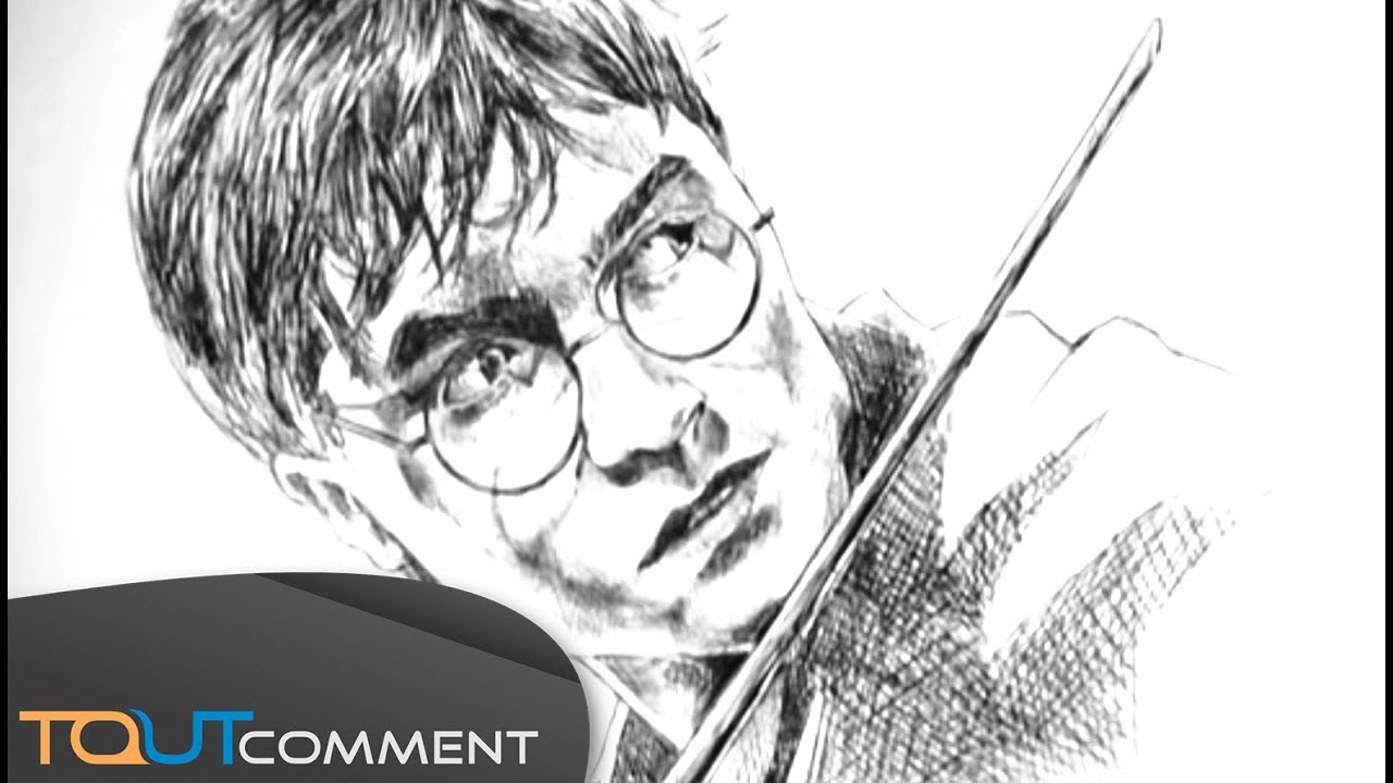 Draw Harry Potter Dessiner Harry Potter Youtube