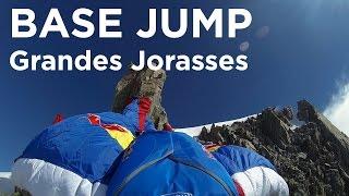 10012_ Base jump wingsuit alpinisme Grandes Jorasses face sud Valery Rozov