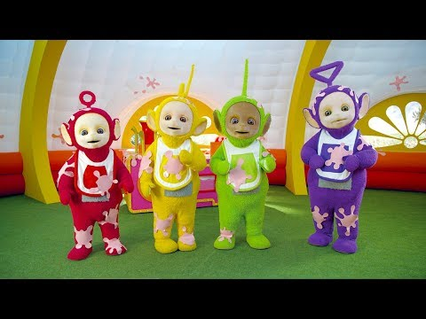 Tubby Custard train goes Splat   Teletubbies   Nursery Rhymes with Teletubbies   Cartoons for Kids