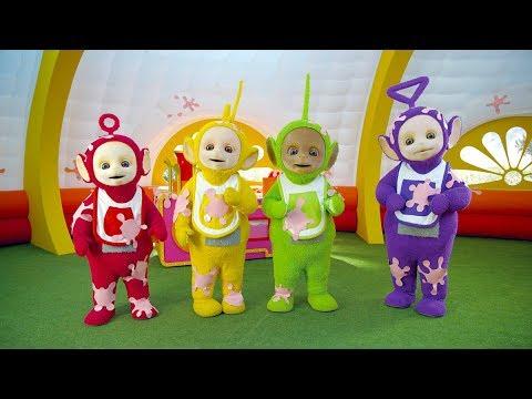 Tubby Custard train goes Splat | Teletubbies | Nursery Rhymes with Teletubbies | Cartoons for Kids