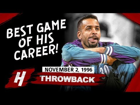 Dell Curry (Steph's Father) FULL Career-HIGH Highlights vs Raptors ...