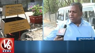 Hyderabad Roads | Motorists Facing Problems With Damaged Roads In City | V6 News
