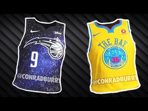 "All Teams New ""The City"" Alternate Jerseys NBA 2K18 LEAK"