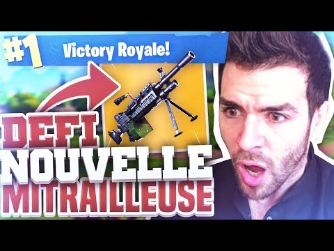 🔥DÉFI 1 vs 50 : À LA NOUVELLE MITRAILLEUSE ► ULTRA CHEAT !! TOP1 Fortnite 50 vs 50