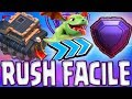 CLAN HDV 9 FULL LÉGENDE | MEILLEURE COMPO & BASES RUSH | Clash of clans Mp3
