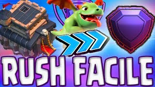 CLAN HDV 9 FULL LÉGENDE | MEILLEURE COMPO & BASES RUSH | Clash of clans