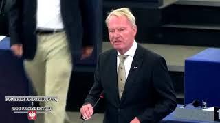 Niemiecki eurodeputowany broni Polskę przed eurokratami - Hans Olaf Henkel