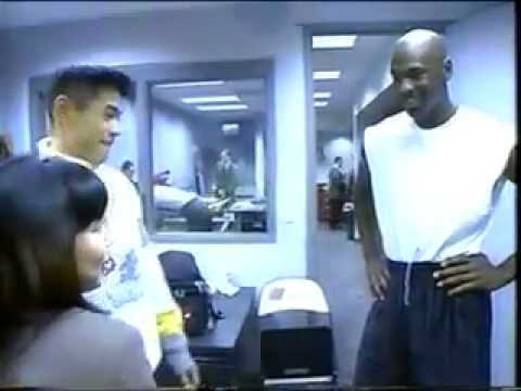 e99e4d2df403b0 The first meeting of Ichiro and Michael Jordan 1995 - YouTube