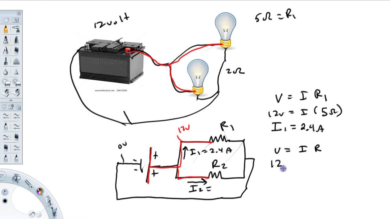 Simple Dc Circuit Ex 2