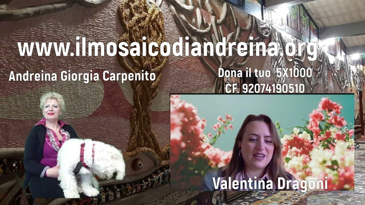 Storie del mosaico: Valentina una volontaria arrivata da Arezzo